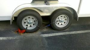 Stolen Lawn Care Equipment Trailer